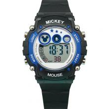 多功能電子錶-黑藍