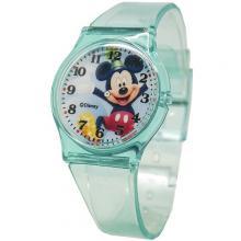 [迪士尼正版授權] 米奇Mickey清透果凍休閒手錶