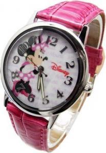 迪士尼 A041 可愛迷人米妮 皮帶錶