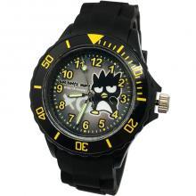 【三麗鷗系?#23567;?#37239;企鵝運動彩帶手錶-黑色(網路販售限定款)