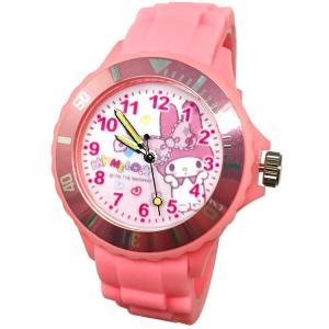 【三麗鷗系列】美樂蒂Melody運動彩帶手錶-粉色-1 (網路販售限定款)