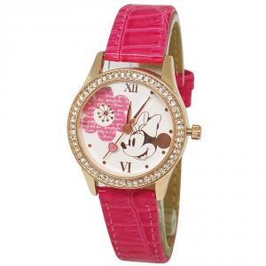 簡約米妮水晶鑽精緻腕錶