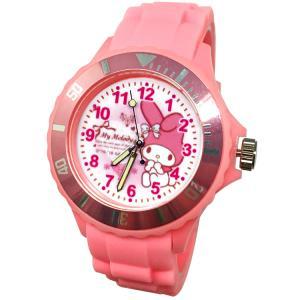 【三麗鷗系列】美樂蒂Melody運動彩帶手錶-粉色-2 (網路販售限定款)