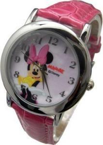迪士尼 2030M 俏皮可愛米妮 皮帶錶
