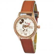 爵士米奇水晶鑽精緻腕錶