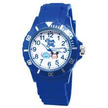 【迪士尼】日系TsumTsum運動彩帶錶-米奇與史迪奇