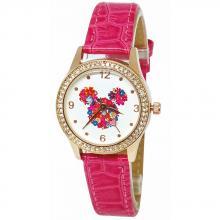 繽紛米妮水晶鑽精緻腕錶